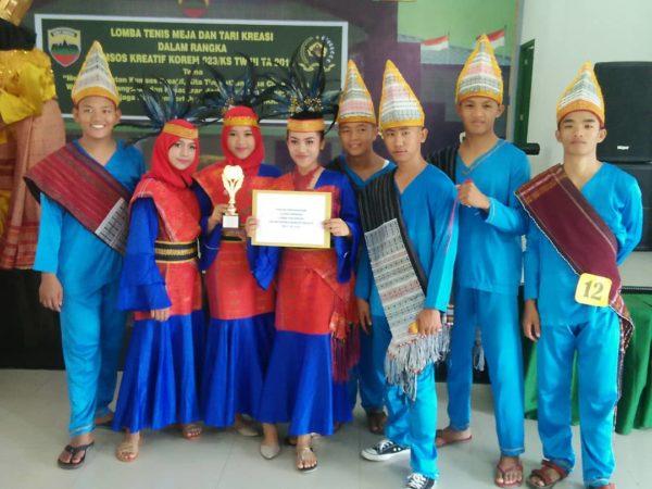 Lomba Tari kreasi antar SMA / SMK se Sibolga dan Tapteng