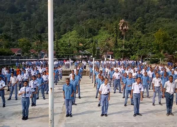 Tari Sajojo Dalam Rangka HUT TNI ke 74