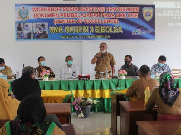 SMKN 3 Sibolga SMK Center Of Excellence (COE)