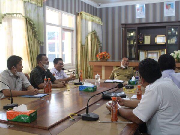 Audiensi Kepala Smk Negeri 3 Sibolga Dengan Walikota Kota Sibolga